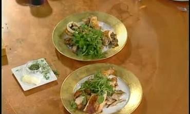 Roast Chicken with Lemon Herb Sauce Part 2