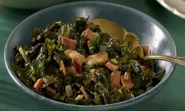 Southern Collard Greens with Bacon and Ham