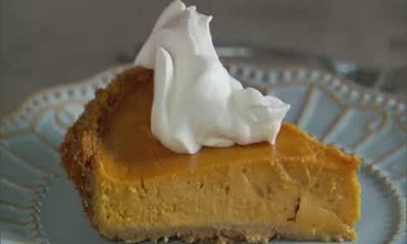 Sweet Potato Pie with Graham Cracker Crust