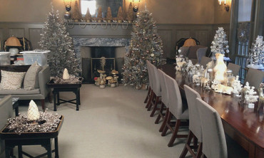 Take a Tour of Martha's Holiday Living Room
