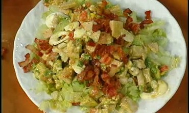 Thanksgiving Leftovers Turkey Salad Part 2