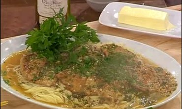 Veal Piccata with Angel Hair Pasta. Part 2