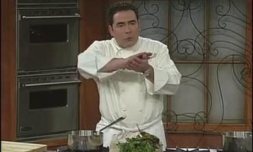 Yukon Gold Potato, Baby Beet, and Crab Salad