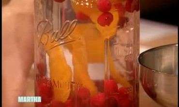 Adrien Brody and Cranberry and Orange Vodka
