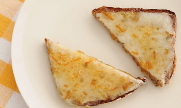 Breakfast Cheese and Marmalade Toast Recipe