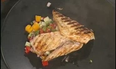 Chef Dave's Mayonnaise Basted Pompano, Part 2