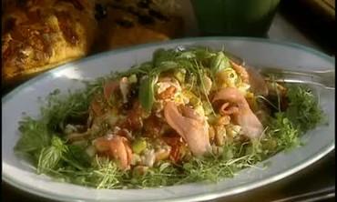 Chef Franck Deltrain's Patroon Lobster Salad
