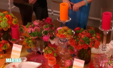 Colorful Wedding-Reception Decorating Ideas