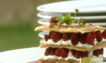 Eberhard Muller's Alpine Strawberry Napoleon
