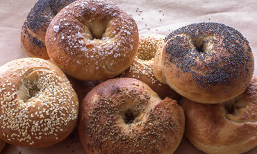Homemade Bagels from Thomas Joseph