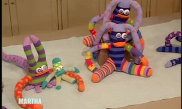 How to Make Colorful Knitwit Sock Creatures