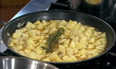 Marinated Pork Tenderloins with Apple Puree