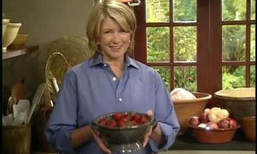 Martha Stewart Presents Summer Strawberries