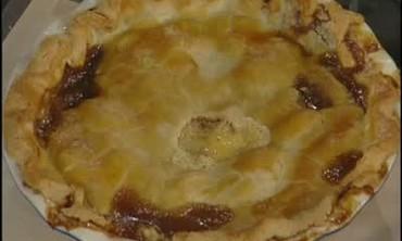 Oatmeal Soda Bread and an Apple-Custard Pie