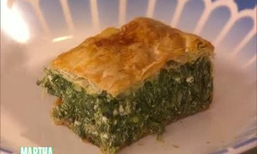 Traditional Spanakopita with Ricotta Cheese