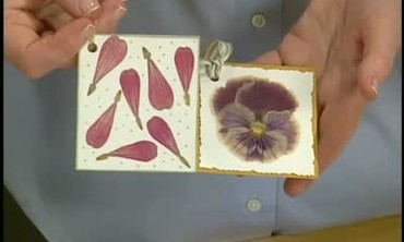 Using a Milk Carton to Seal Pressed Flowers