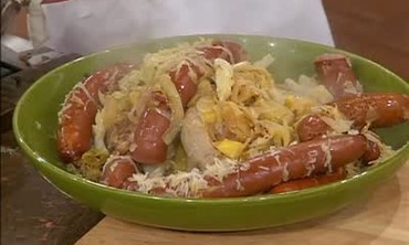 All About Meat - Sauerkraut Braised Sausages