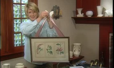 Ask Martha: Candle Sconces and Picture Frames