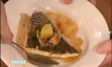 Black Sea Bass Fillets with Sauteed Potatoes