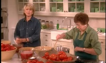 Canning Tomatoes With Martha Stewart's Mother