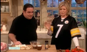 Crazy Nacho Super Bowl Appetizer with Emeril