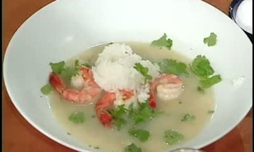 Crispy Catfish Curry and Shrimp Coconut Soup
