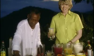 Desmond's Rum Punch at Strawberry Hill Resort