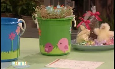 Good Thing: Easter Basket with Newborn Chicks