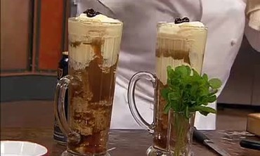 Guiness Beer Homemade Ice Cream Float Recipe