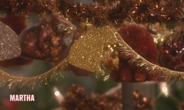 Glittered Brown Bear Ornament
