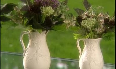 How to Arrange Flowers in an Antique Pitcher