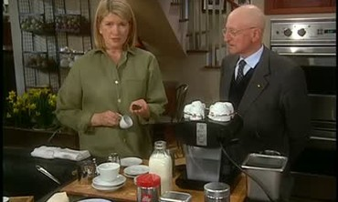 Martha Stewart Discusses Coffee And Espresso