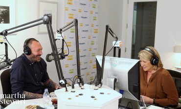 Martha Stewart On Air with Tattoo Artist JK5