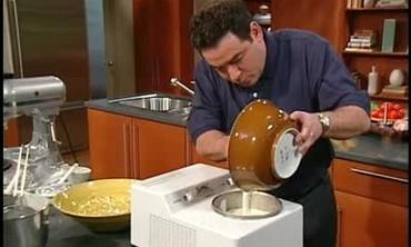 Mascarpone Gelato and Rustic Pasta and Pesto