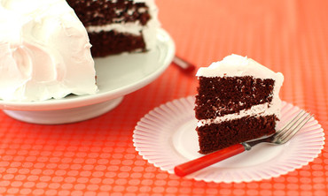 Red Velvet Cake with 7 Minute Frosting, Oh My!
