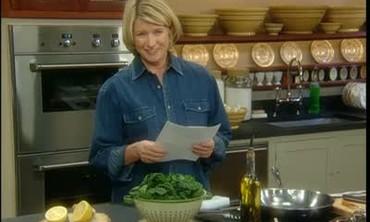 Ask Martha: Spinach, Chowder, Brisk, Cooking Wine