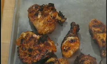 Carribean Style Chicken with Spice Rub, Part 1