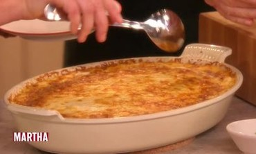 Chef Sarah Mastracco's Mashed-Potato Souffle