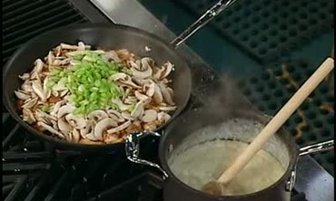 Chicken, Ham, and Mushroom Crepe Filling Part 3