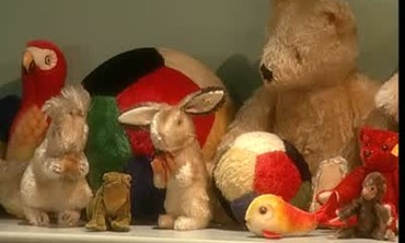 Collection of Steiff  Company Stuffed Animals