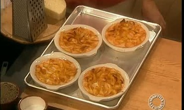 George Germon Makes a Baked, Five Cheese Pasta