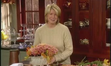 How To Make a Thanksgiving Flower Arrangement