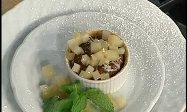 How to Make Pear, Stilton and Walnut Souffle