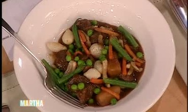 Lamb Stew with Young Spring Vegetables, Part 2
