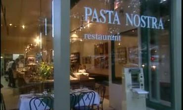 Martha Stewart Visits Pasta Nostra Restaurant