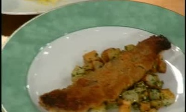Pan Seared Shad Roe with Browned Butter Sauce