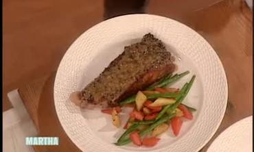 Pepper Steak au Poivre with Pierre Schaedelin