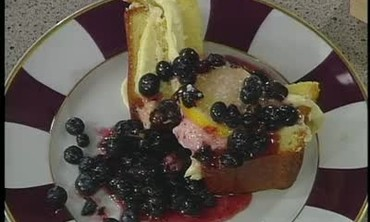 Pound Cake with Pastry Cream and Fruit Part 6