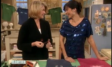 Stencil Art T-Shirt Craft with Catherine Bell