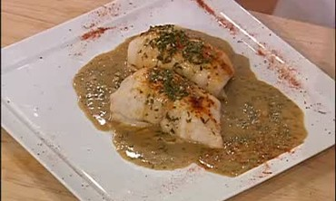 Stuffed Dover Sole with Creole Meuniere Sauce